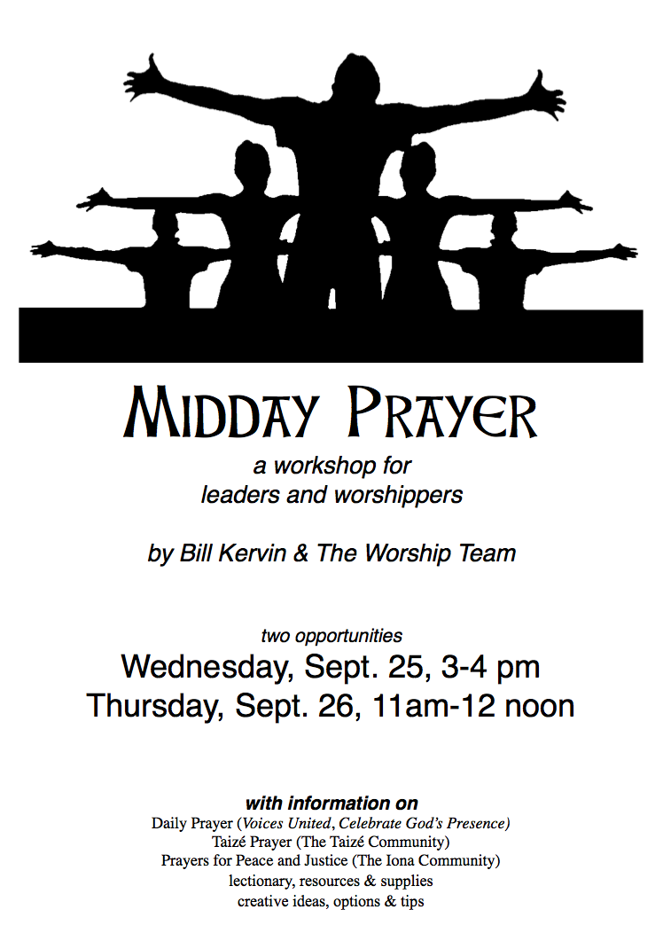 Midday Prayer Workshop